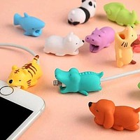 Cute Animal Cable Protector Cable Bite For iPhone USB Cable Chompers Charger Wire Holder For iPhone Cable Dropshipping