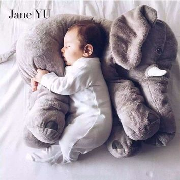 JaneYU Baby kids gift Baby Pillow Soft Elephant Feeding Sleeping Cushion Baby Bed Car Seat Pillows Kids Stuffed Plush Toys