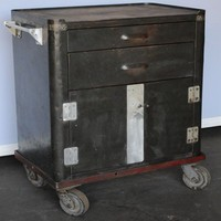 Twenty Gauge Tool Cart - Salvage Furniture - Store Vintage Steel Furniture