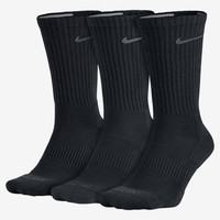 The Nike Dri-FIT Half-Cushion Crew (3 Pair) Training Socks.
