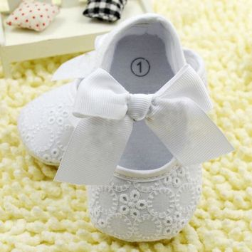 Girls' Winter Boots Soft Sole Crib Toddler Shoes Seaer l 0-18 M