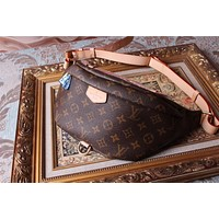 LV Louis Vuitton LEATHER BUMBAG WAIST BAG CROSS BODY BAG
