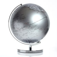 "Found by Fab: Globe Light 17"" Dark Silver, at 30% off!"