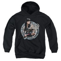 Xena - The Warrior Youth Pull Over Hoodie