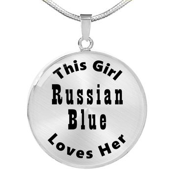 Russian Blue - Luxury Necklace