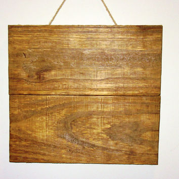 "Reclaimed wood blank sign, Stained Wood Canvas, 12""X11"" Wood Canvas,Pallet Wood Canvas, Photography Backdrop, Rustic Decor"