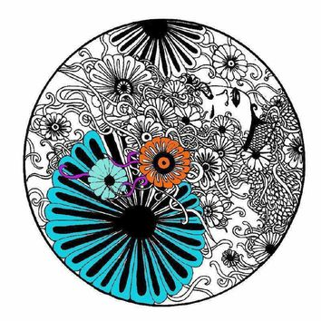 Mandala Coloring Page - Instant Download & Print!