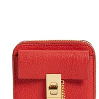 Chloé 'Drew' Lambskin Leather Square Wallet | Nordstrom