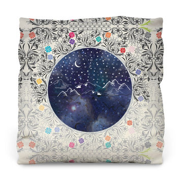 Beautiful Starry Night Throw Pillow