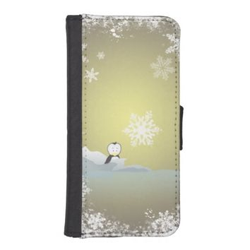 christmas wallet phone case for iPhone SE/5/5s
