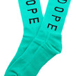 The Statement Socks in Teal