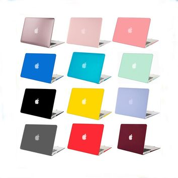 Mosiso Plastic Hard Case for Macbook 12 Air 11 13 Pro 13 15 Retina 13 15 inch touch bar Sleeve Shell Cover + keyboard cover