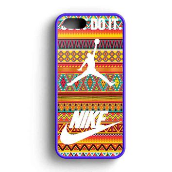 Nike Air Jordan Just Do It Orange Aztec iPhone 5 Case iPhone 5s Case iPhone 5c Case