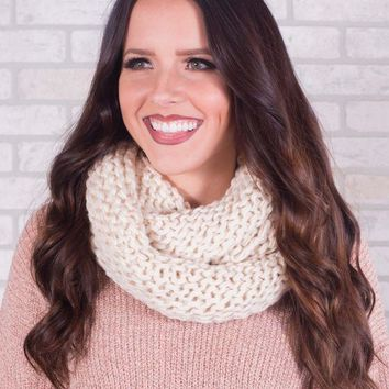 DCCKGE8 Chunky Knit Infinity Scarf - Multiple Options
