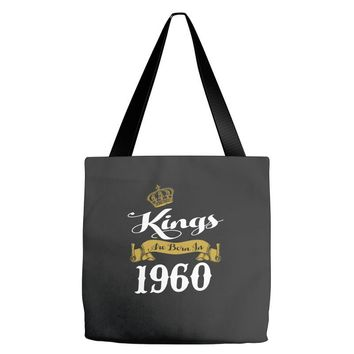 kings are born in 1960 Tote Bags