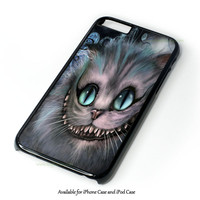 Disney Alice In Wonderland Cheshire Cat Smile Design for iPhone and iPod Touch Case