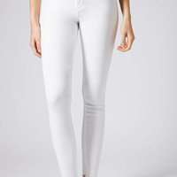 White Crop Joni Jeans