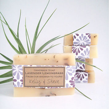 Custom Wedding or Bridal Showers Favor Handmade Soap (10) / barn weddings favors / custom soap gift Weddings Decor Favor
