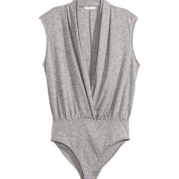 H&M V-neck Bodysuit $34.99