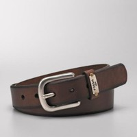 Fossil Logo Keeper Belt