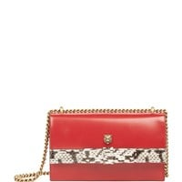 Gucci Malin Snake Trim Shoulder Bag | Harrods.com