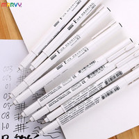 Marvy Sketch Liner/Brush 0.03mm/0.05mm/0.1mm/0.3/0.5/0.8/1.0mm Water Resistant Gundam Drawing Pen Design/Comic Painting Supplies