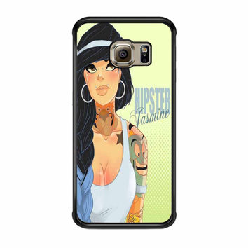 Hipster Jasmine Disney Princess Samsung Galaxy S6 Edge Case