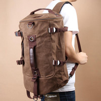 Vintage Outdoor Canvas Backpack