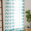 Magical Thinking Geo Chevron Gauze Curtain-
