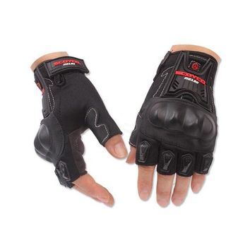 ac NOOW2 Half Finger Motorcycle Gloves for Scoyco MC29 Cycling Racing Riding Protective Gloves Motorbike Motorcross guantes Glove