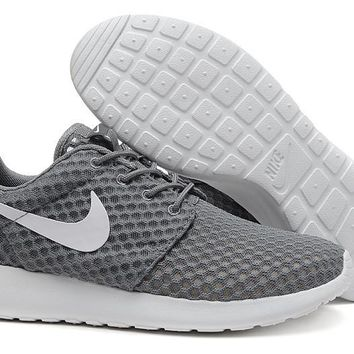 """Nike Roshe Run BR"" Unisex Sport Casual Honeycomb Net Cloth Breathable Sneakers Couple Running Shoes"