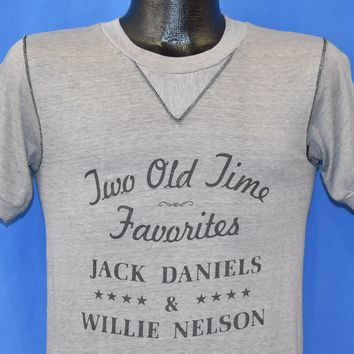 80s Jack Daniels Willie Nelson t-shirt Small