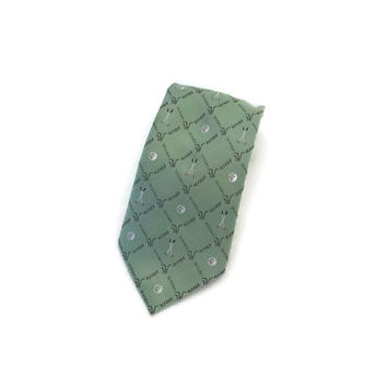 Men's Neck Tie, Golf Gifts for Men, Golf Gift, Silk Tie