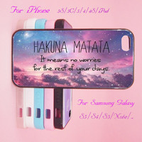 HAKUNA MATATA,King of lion,Touch 5,iPad 2/3/4,iPad mini,iPad Air,iPhone 5s/ 5c / 5 /4S/4 ,Galaxy S3/S4/S5/S3 mini/S4 mini/S4 active/Note
