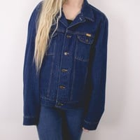 Vintage Denim Rustler Jean Jacket