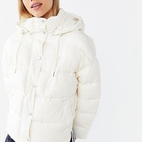 UO Mae Hooded Puffer Jacket | Urban Outfitters