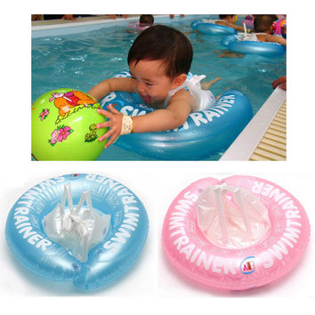 Thicken Infant Inflatable Swim Ring Baby Shoulder Strap Armpit Swimming Laps Baby Swimming Learning Ring Pool Exercise Equipment