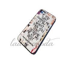 MARILYN MONROE quote iPhone case iphone 4/4s iphone 5 itouch 4&5 galaxy s3 cute quote girly flirty hard plastic case