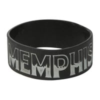 Memphis May Fire Logo Rubber Bracelet