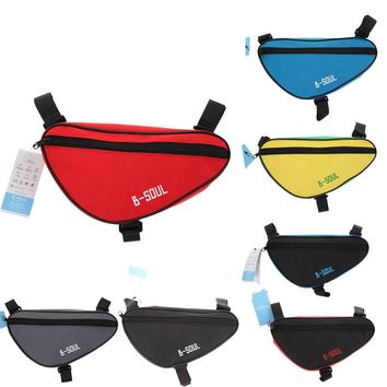 Newest Cycling Front Bag Tube Frame Bag Waterproof Outdoor Mountain Bike Pouch Pannier MTB Saddle Bag Bicycle Frame Pouch
