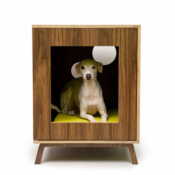 Mid Century Modern Pet Furniture // Dog House // Side Table