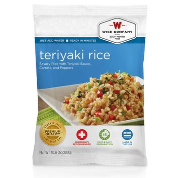 Wise Side Dish - Teriyaki and Rice, 4 Servings
