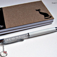 """Notebook. Blank, lined, or graphed pages. 3""""x5"""".  Free shipping (USA, Canada)."""