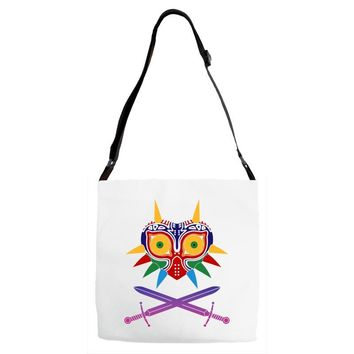 Majora Zelda Mask Adjustable Strap Totes