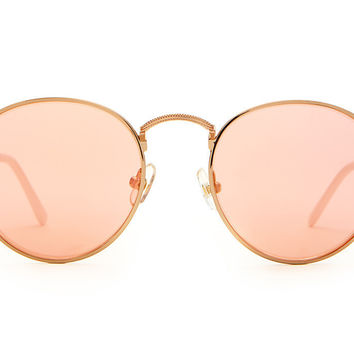 The Tuff Patrol Rose Gold Sunglasses