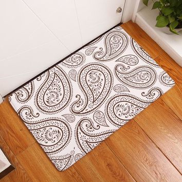 Autumn Fall welcome door mat doormat {Byetee} Printing Floor Mats Bathroom Living Room Carpets  for Hallway Anti-Slip Cozy Carpets Home Decor Kitchen  AT_76_7