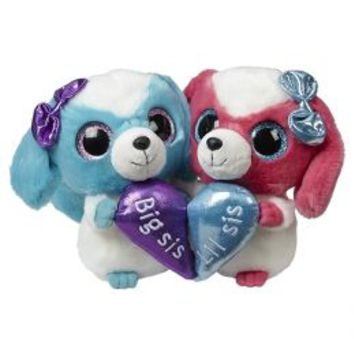 6 Inch Big Sis Lil Sis Plush Dog Set | Girls Small Plush Stuffed Animals | Shop Justice