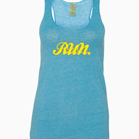 Run - Alternative - Ladies' Meegs Eco-Jersey Racerback Tank