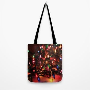 Just Lights Tote Bag by Jessica Ivy