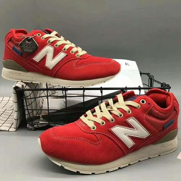 New balance Men Fashion Casual Running Sport Shoes Sneakers Red G-XYXY-FTQ